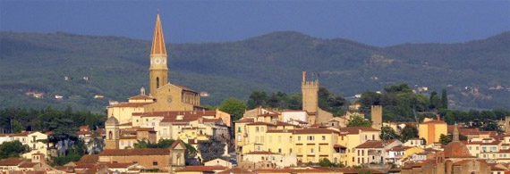 From Chiana to Oxford: Terra d'Arezzo