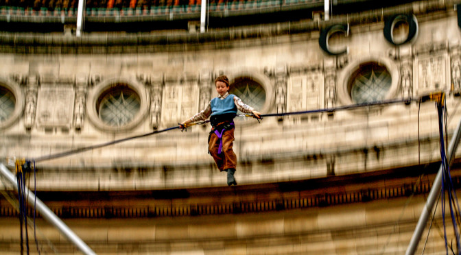 Panning al London County Hall