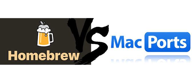 Homebrew vs MacPorts