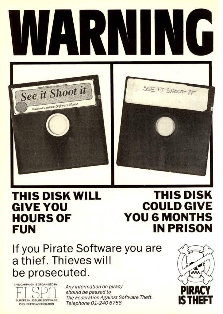 Piracy in the 80s